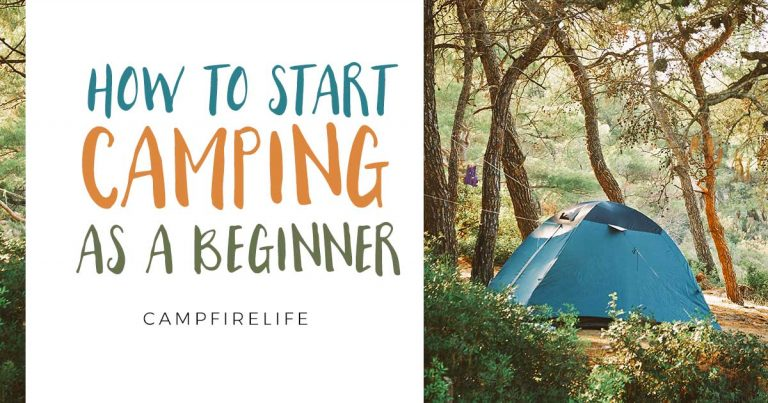 how to start camping as beginner